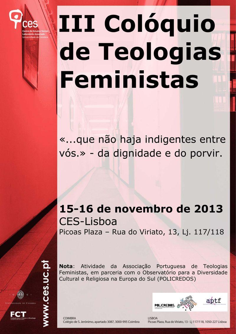 Cartaz III_Colóquio Teologias Feministas