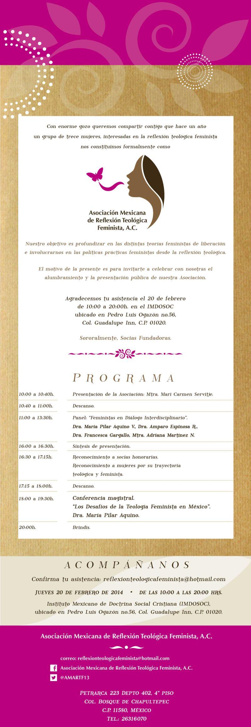 InvitaciónAsociacionevento2014