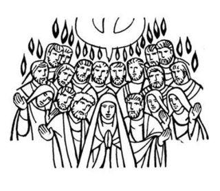 Pentecostes-maria-y-los-apostoles
